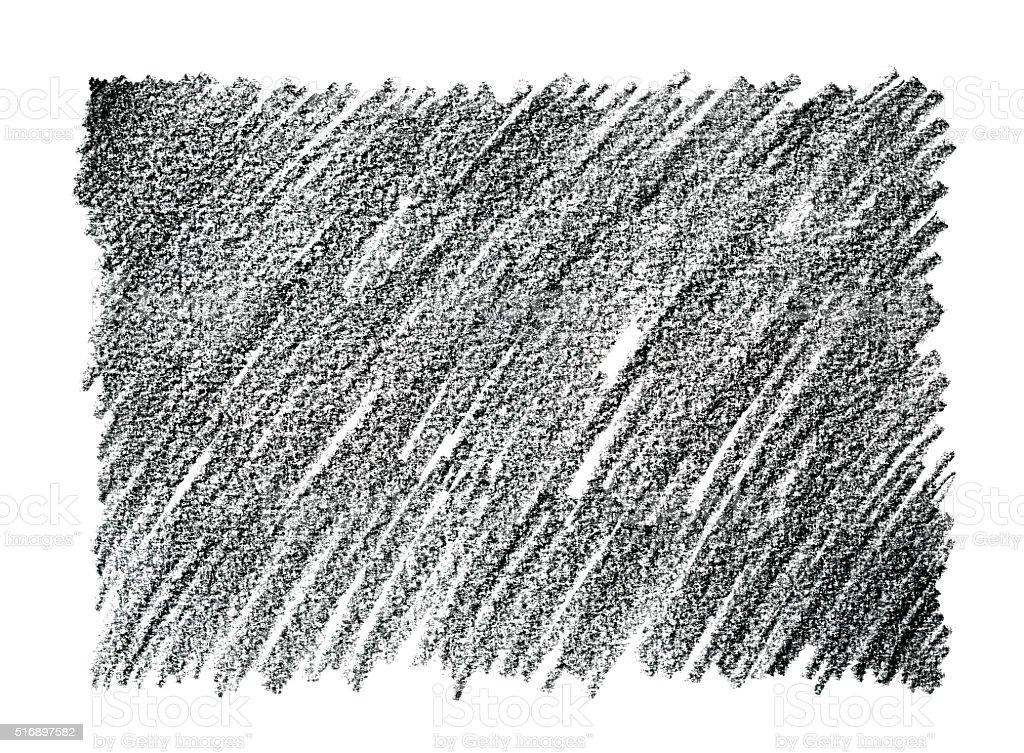 チャコール鉛筆画抽象的な背景 ベクターアートイラスト