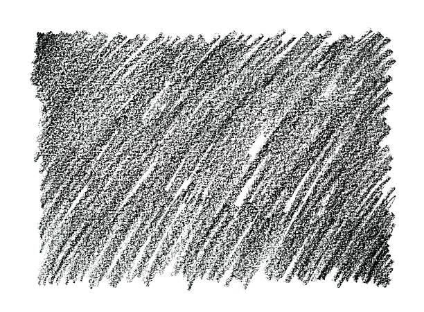 stockillustraties, clipart, cartoons en iconen met charcoal pencil drawing abstract background - potlood