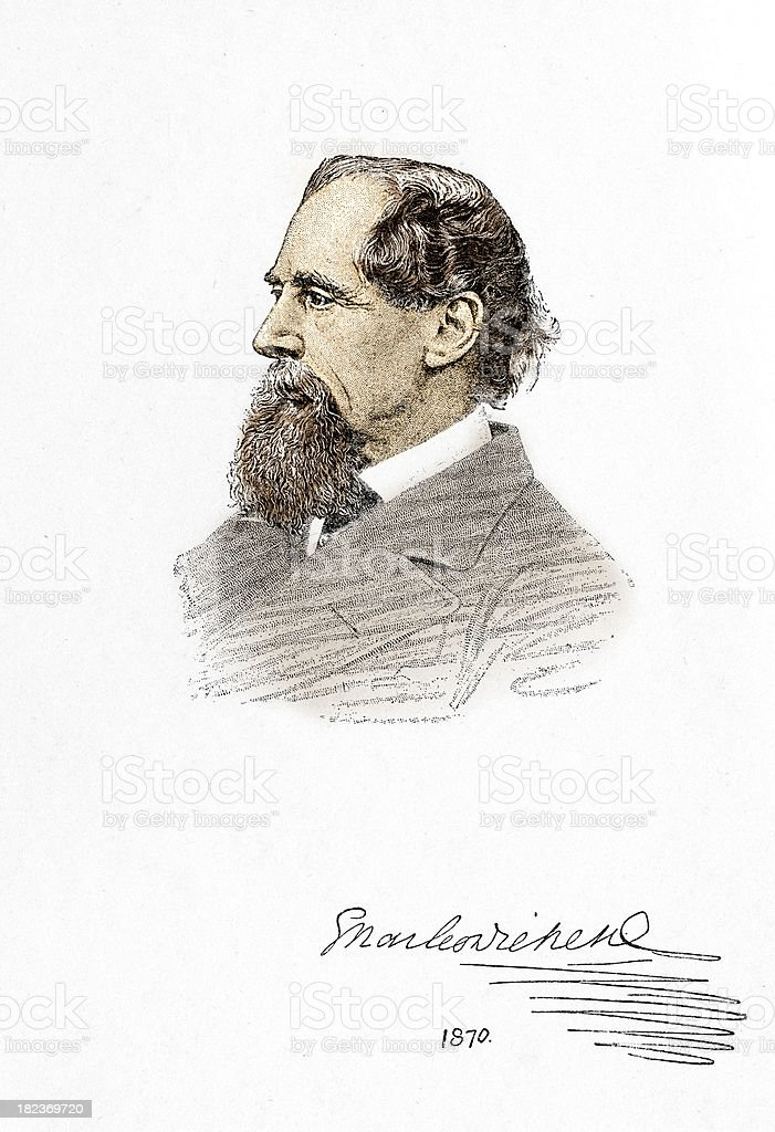 Charles Dickens royalty-free charles dickens stock vector art & more images of 1870-1879