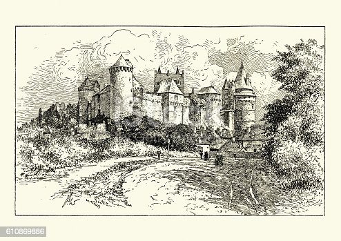 istock Chateau de Vitre, by Percy Wadham 610869886
