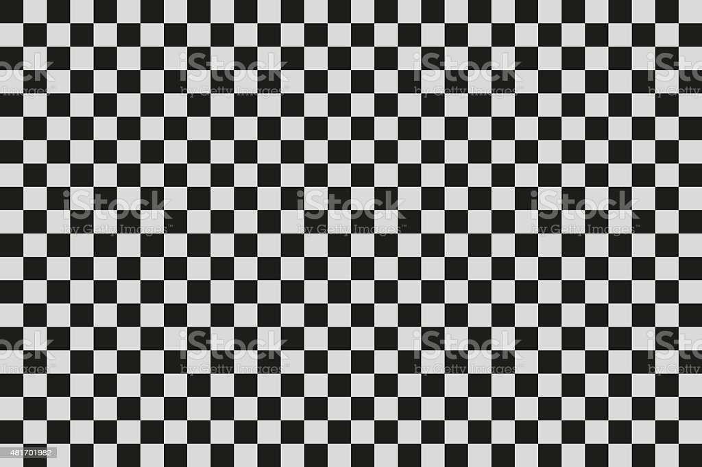 Checkered background vector art illustration