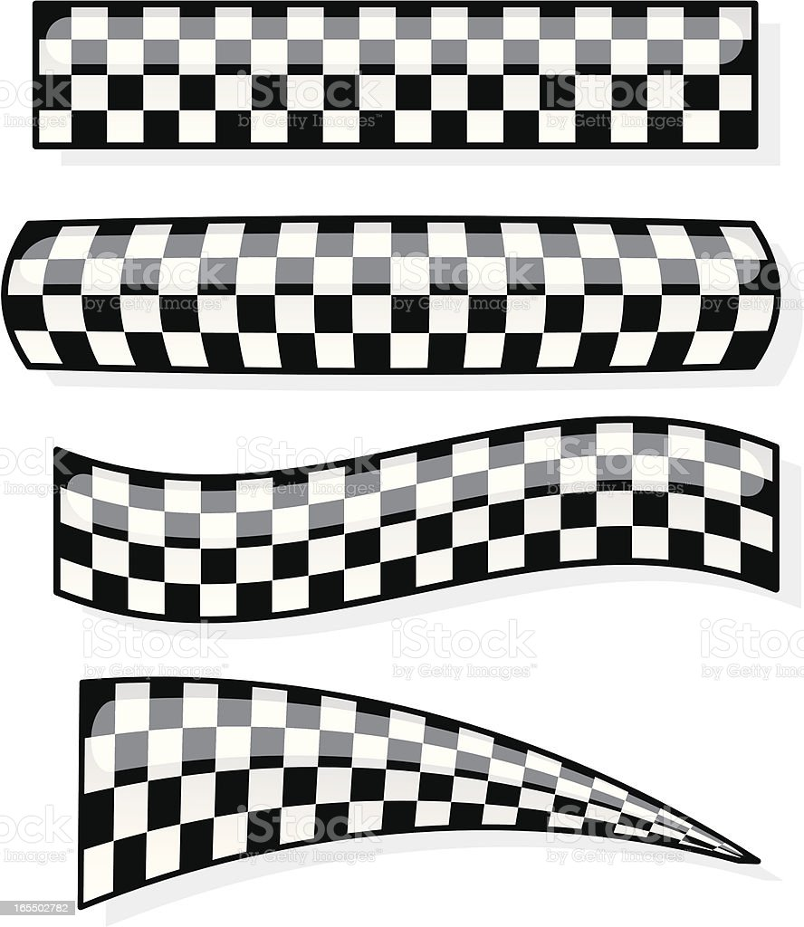 checkered graphics royalty-free stock vector art