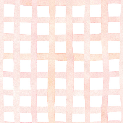 Checkered watercolor seamless pattern