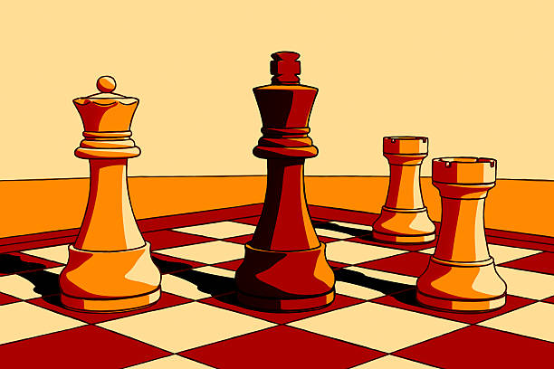 Top 60 Red Queen Chess Piece Clip Art, Vector Graphics and ...