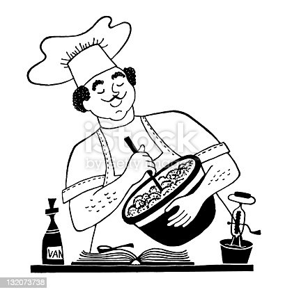 istock Chef Cooking 132073738