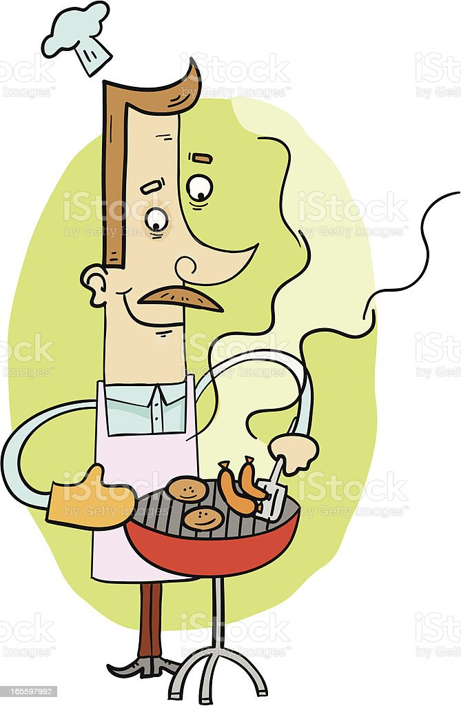 Chef Dad royalty-free chef dad stock vector art & more images of adult