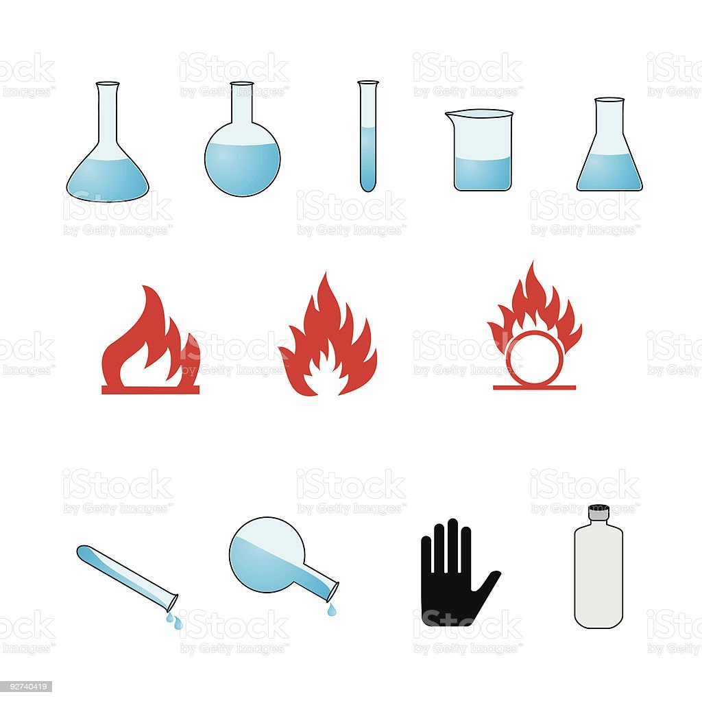 Chemie Lizenzfreies chemie stock vektor art und mehr bilder von arbeiten