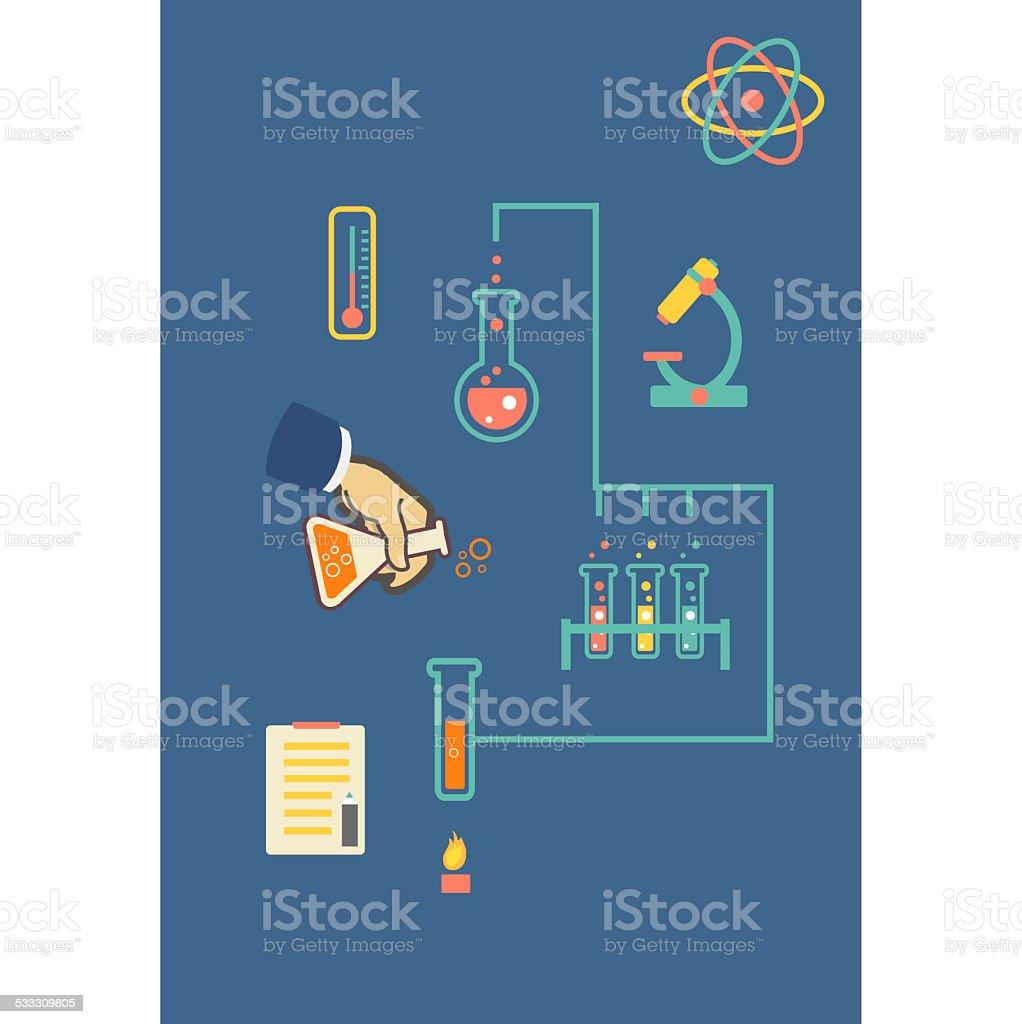 Bioquímica Infografía Ilustración Infografía Plantilla De ...