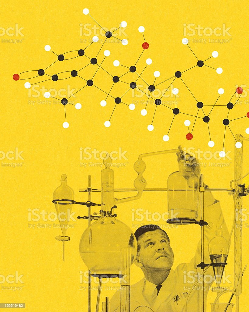 Chemistry Lab royalty-free stock vector art