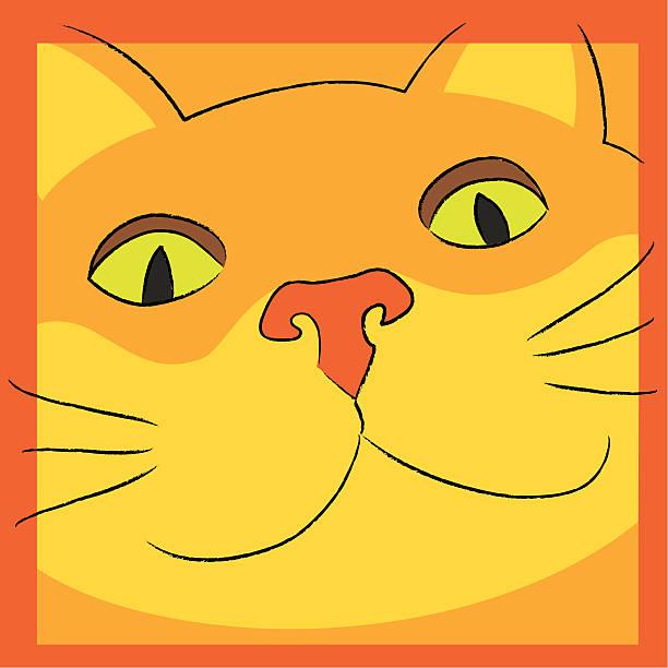 Cheshire Cat vector art illustration