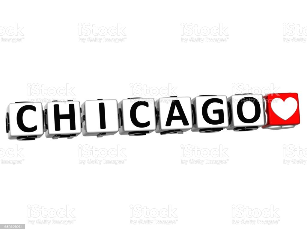 3D Chicago Love Button Click Here Block Text royalty-free 3d chicago love button click here block text stock vector art & more images of abstract