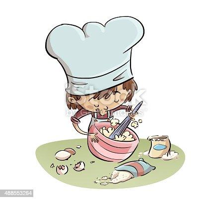 istock niño batiendo en la cocina 488553264