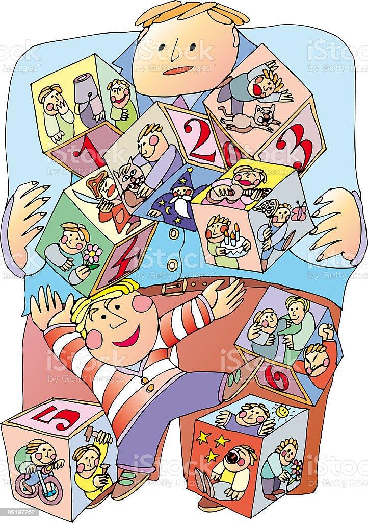 child play royalty free child play stockvectorkunst en meer beelden van dobbelsteen