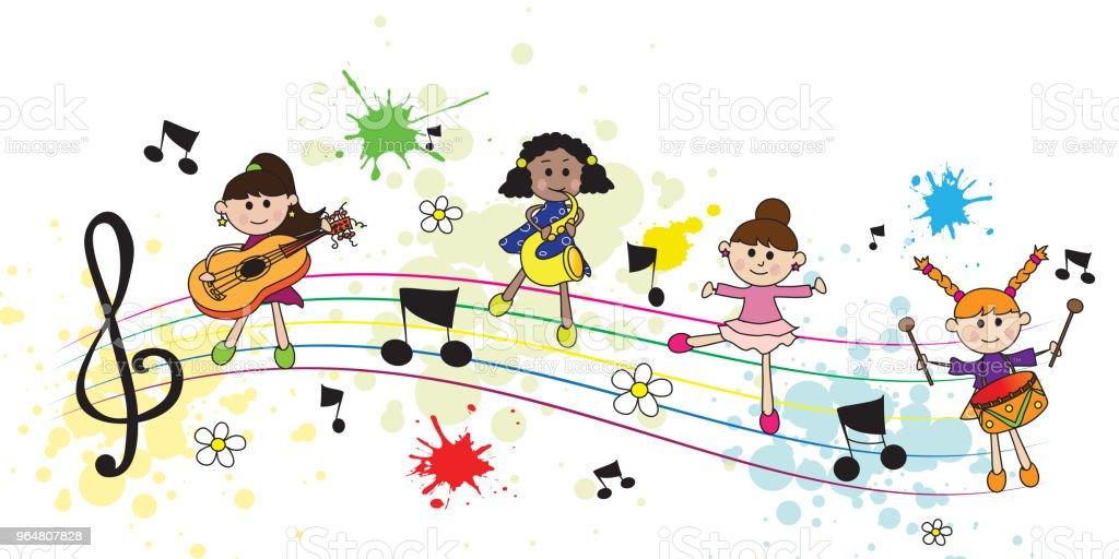 children and music royalty-free children and music stock vector art & more images of art