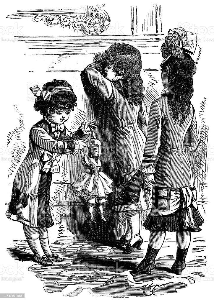 Crianças. - ilustração de arte vetorial