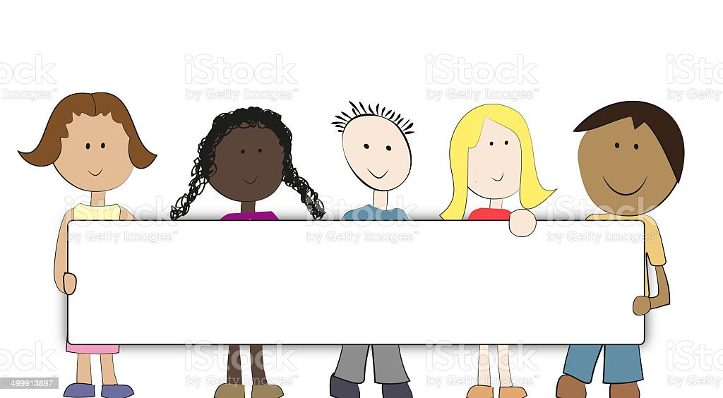 children international vector art illustration