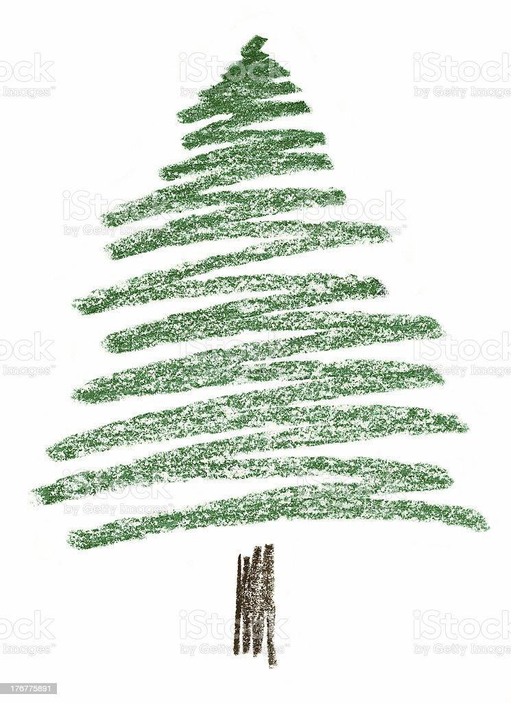 Ilustración de Niño De Dibujar Al Pastel De Un árbol De Pino y más ...