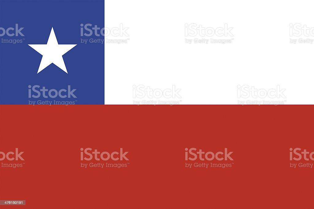 Bandera chilena. - ilustración de arte vectorial