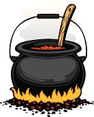 chili pot graphic