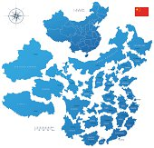 China, provinces and regions