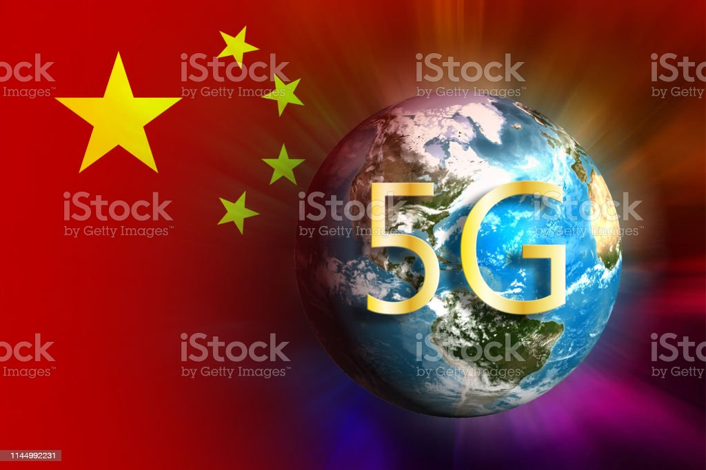 5g China Technologies Stock Illustration - Download Image Now - iStock