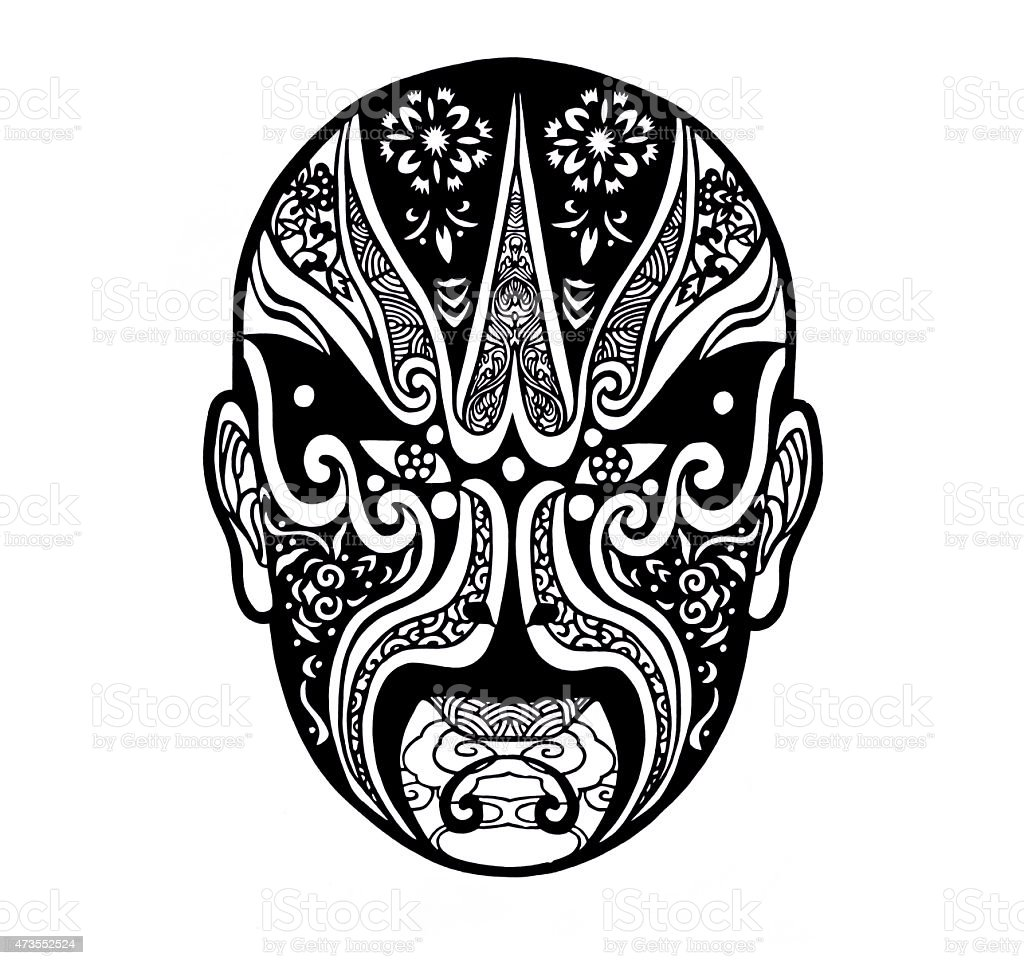 Chinese opera mask stock vector art more images of 2015 chinese opera mask royalty free chinese opera mask stock vector art amp more images biocorpaavc Images