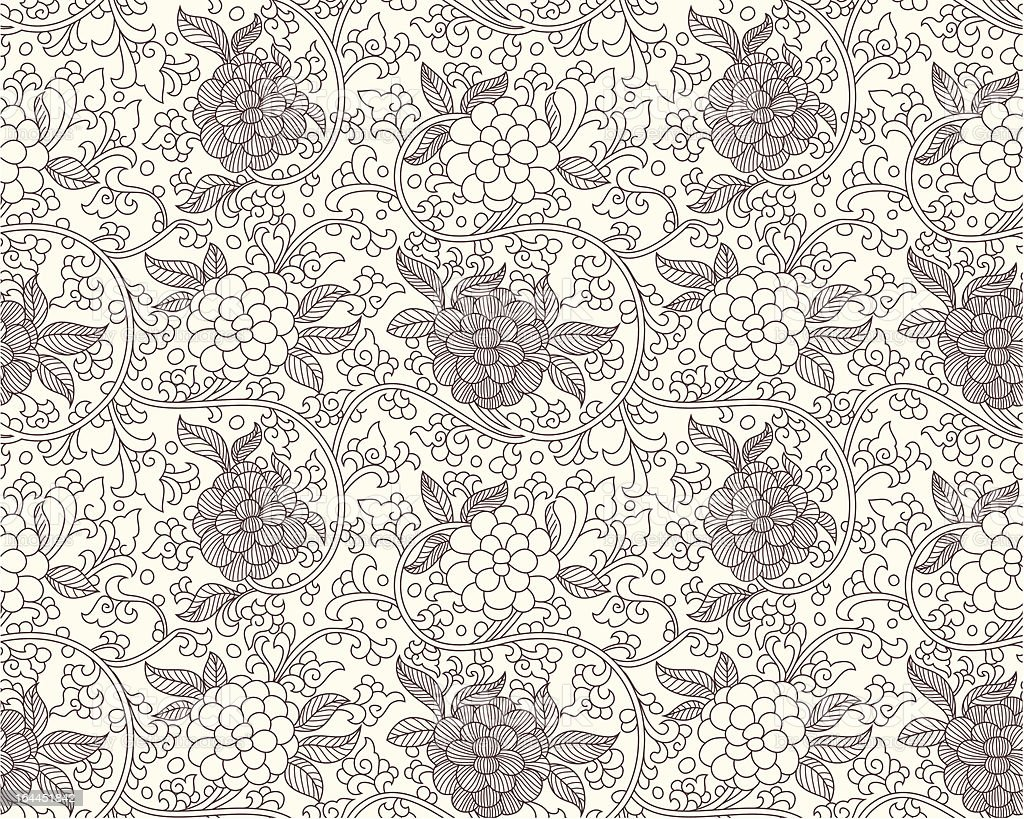 chinese seamless pattern royalty-free stock vector art