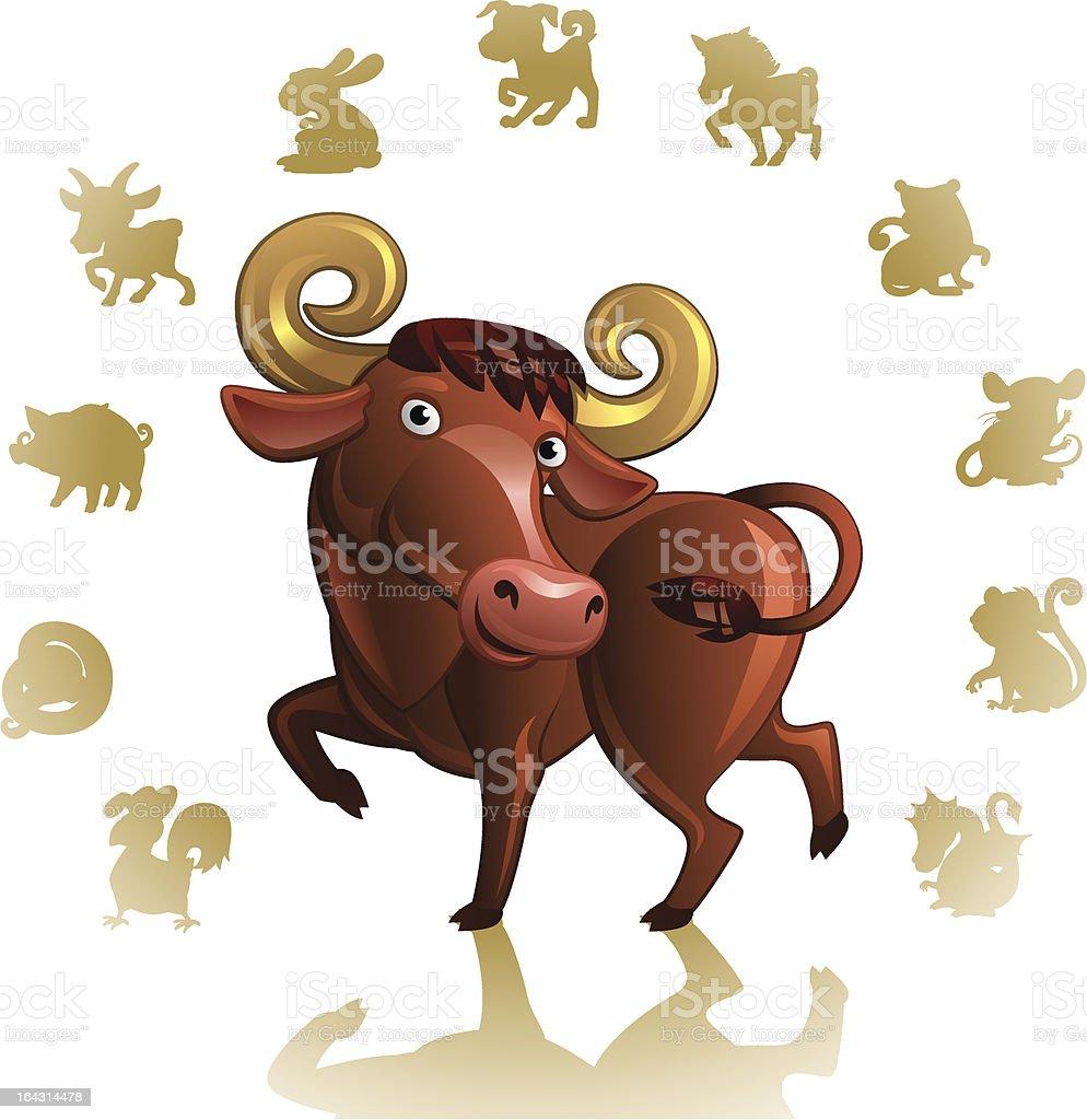 signe du zodiaque chinois boeuf cliparts vectoriels et plus d 39 images de ann e du cheval. Black Bedroom Furniture Sets. Home Design Ideas