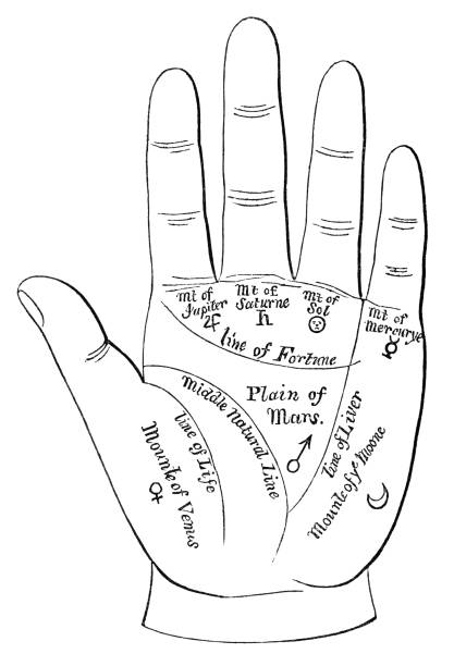 Palm Reading Illustrations, Royalty-Free Vector Graphics