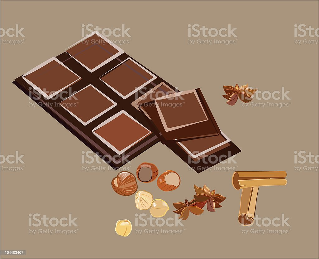 chocolate composition royalty-free chocolate composition stock vector art & more images of anise