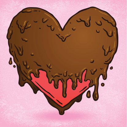 Chocolate Covered Heart