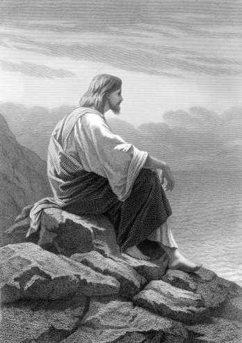 Christ Rests by the Sea