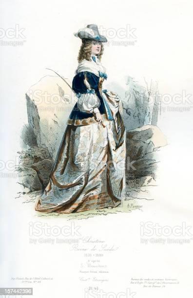 スウェーデン女王クリスティーナ - 17世紀のベクターアート素材や画像 ...