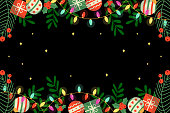 istock Christmas and New Year holidays background 1288537651