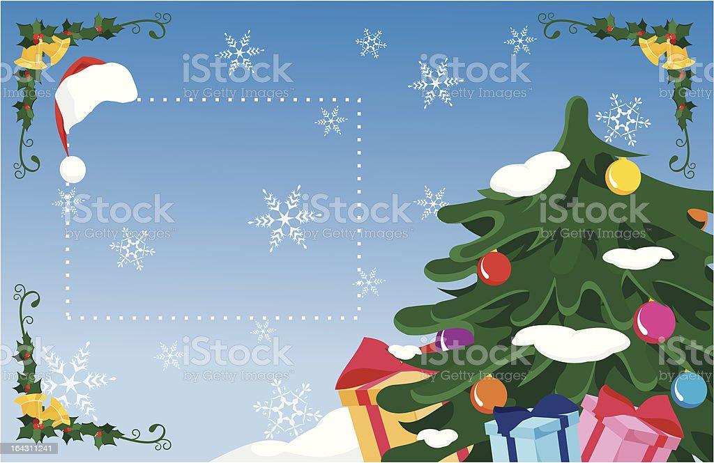 Christmas сard royalty-free stock vector art