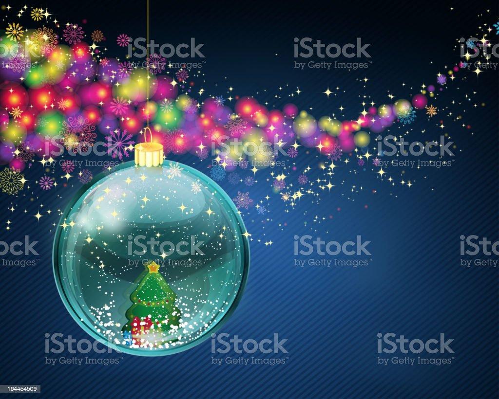 Weihnachten Hintergrund. – Vektorgrafik