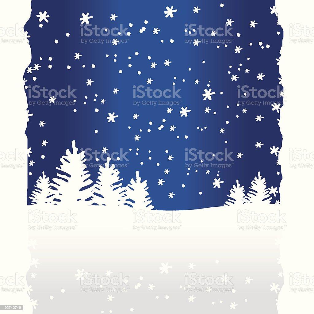 Christmas Background (vector + XXL jpg in ZIP folder) royalty-free stock vector art