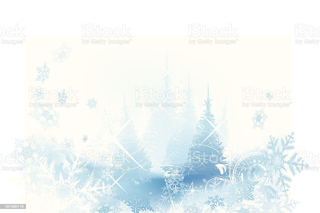Christmas background with trees royalty-free christmas background with trees stock vector art & more images of abstract