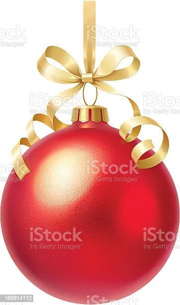 Christmas Ball Stock Illustration - Download Image Now