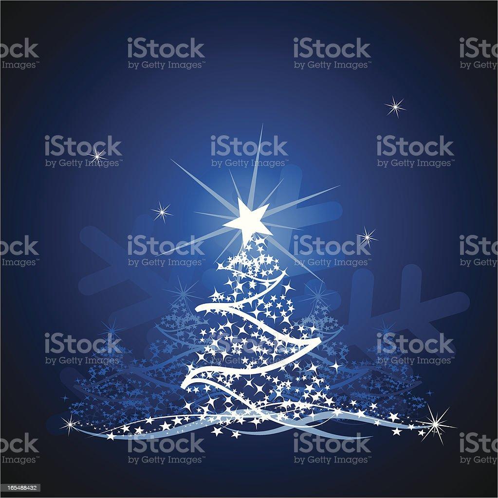 Christmas blues royalty-free stock vector art