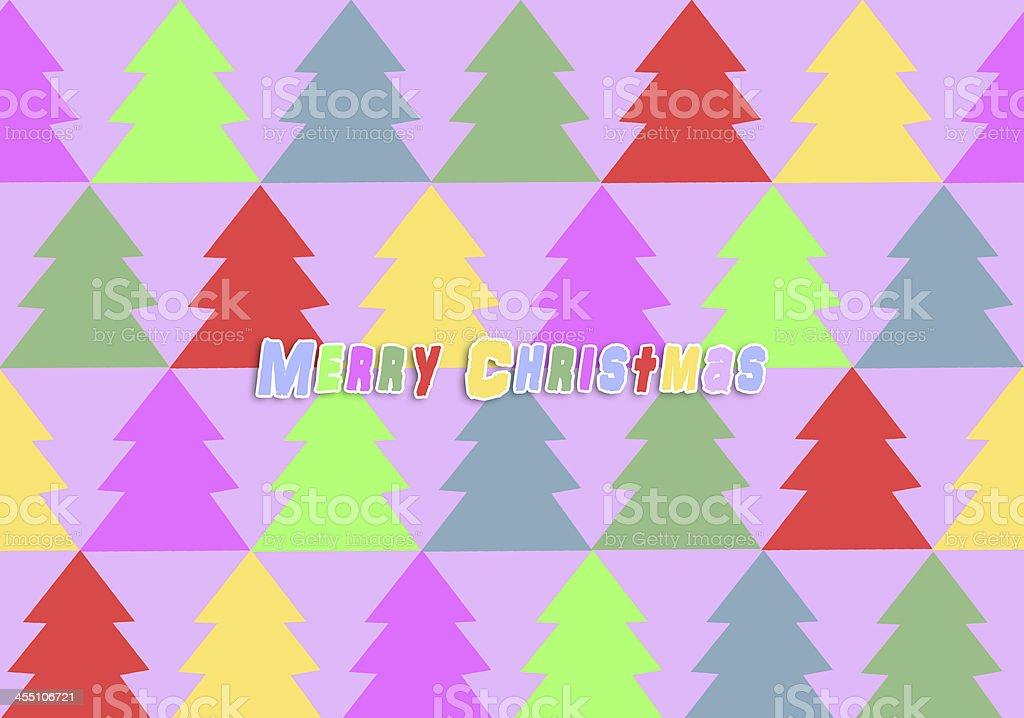 Christmas card (illustration). royalty-free stock vector art