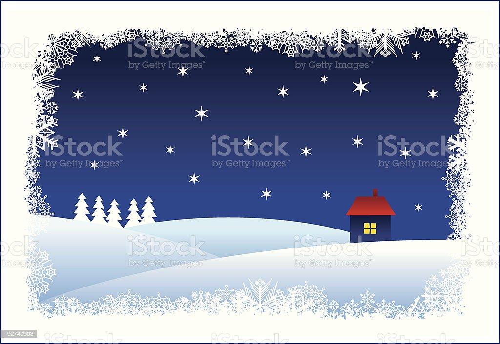 Christmas card Lizenzfreies christmas card stock vektor art und mehr bilder von anhöhe