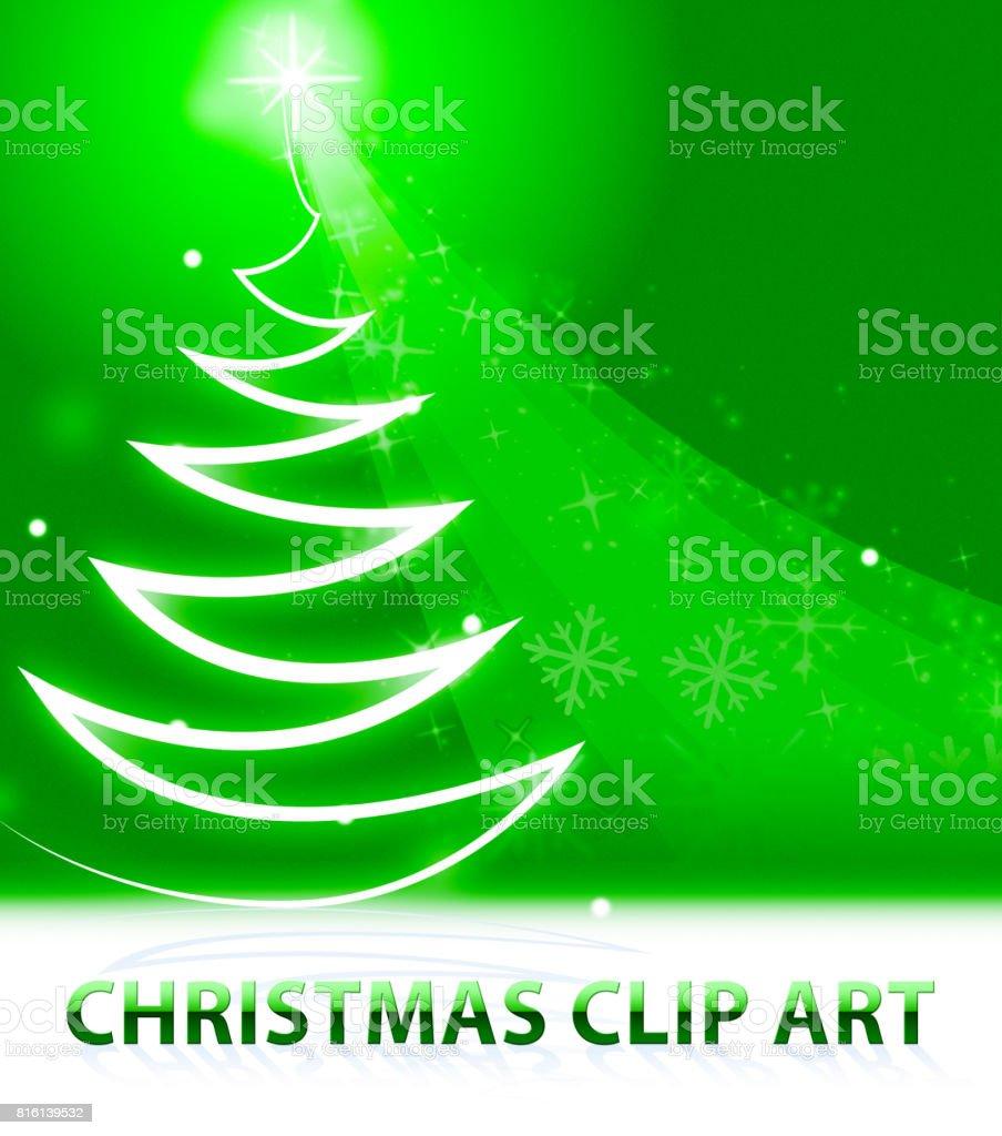 Clipart Noel Signifie Xmas Clipart 3d Illustration Cliparts