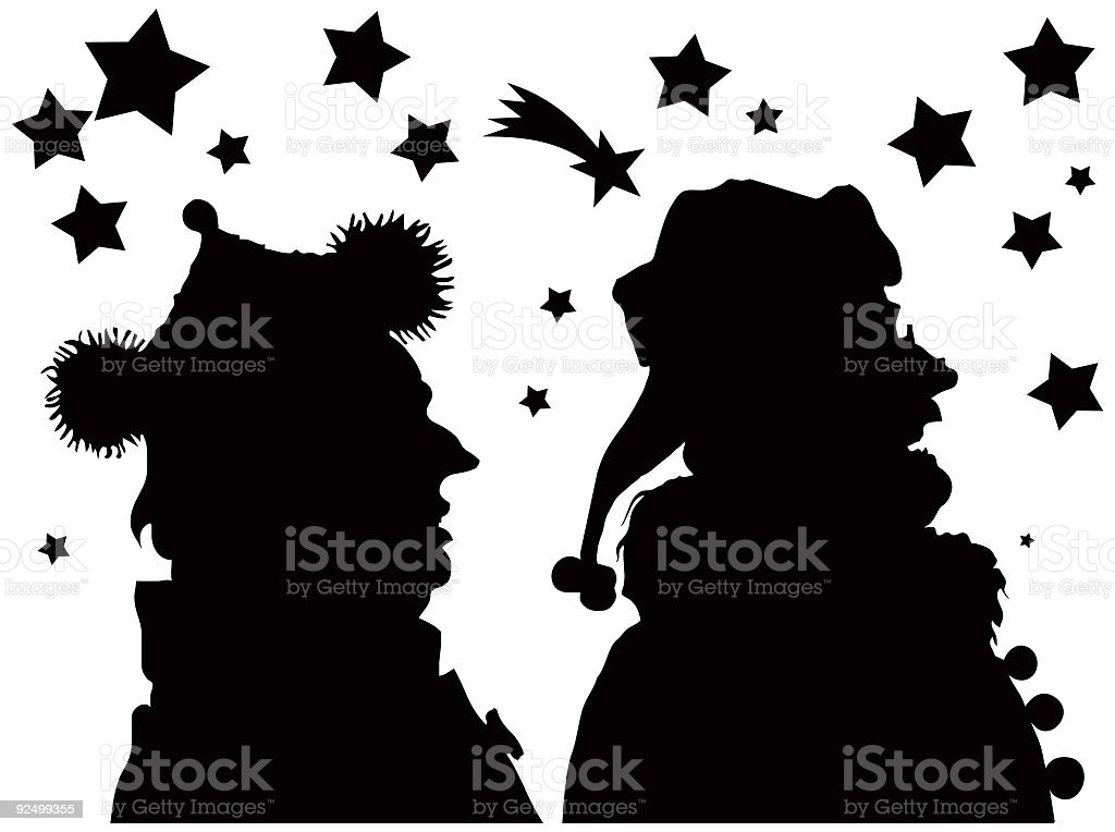 Christmas figures royalty-free christmas figures stock vector art & more images of art product