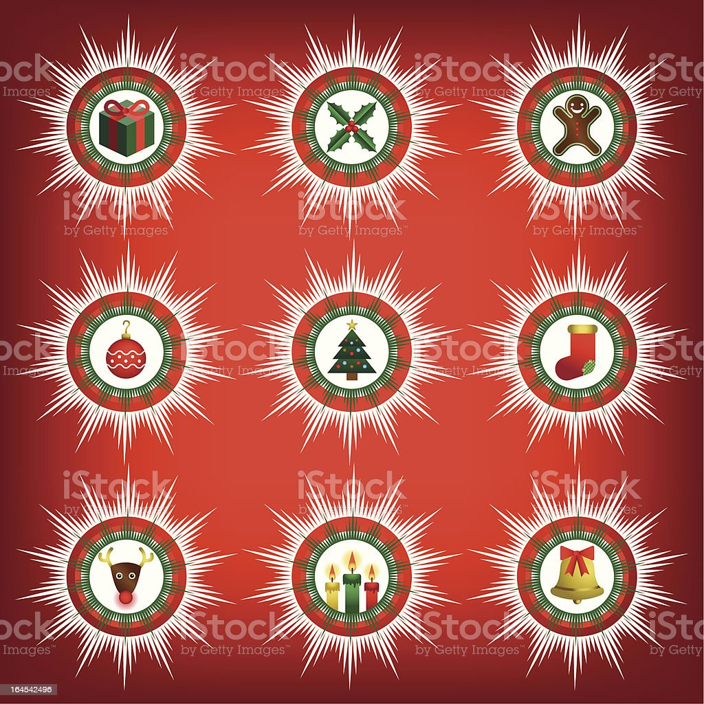 Christmas Icons royalty-free christmas icons stock vector art & more images of baked