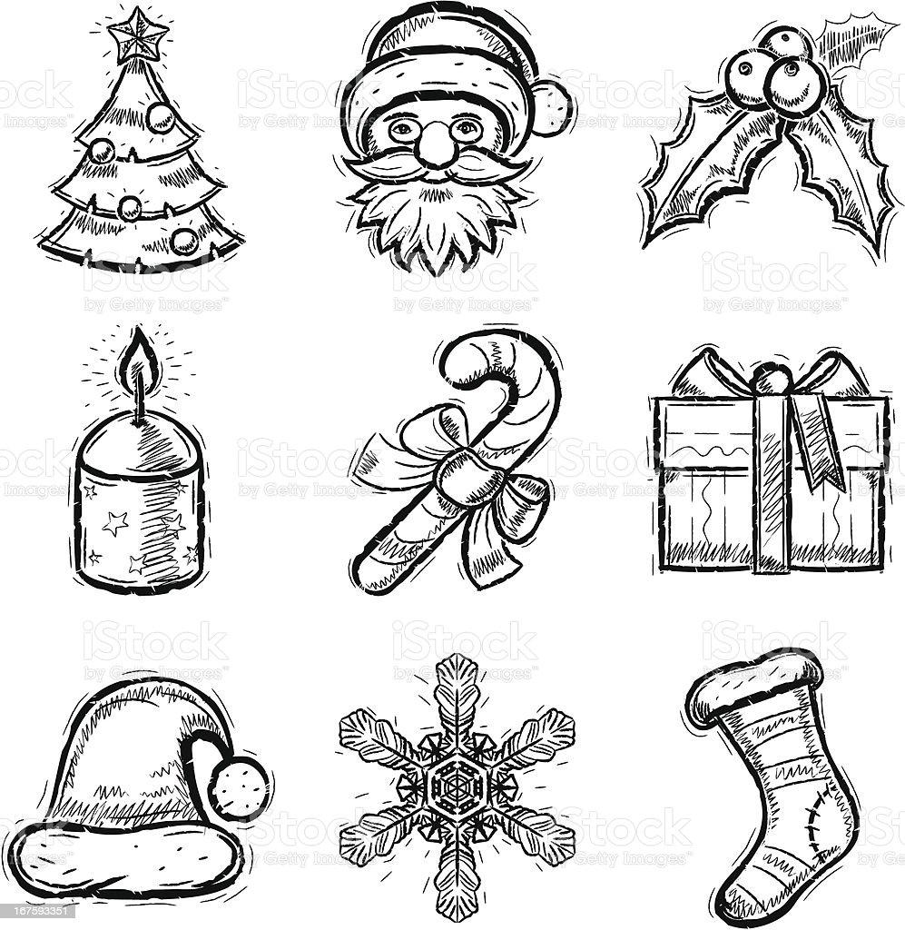 Открытки для, символы рождества для открытки