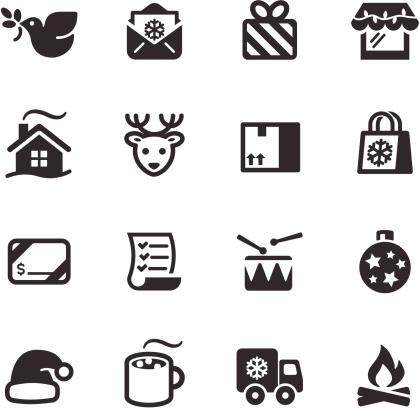 Christmas Icons  |  Mono Series