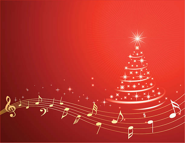 Weihnachtsbilder Merry Christmas.Best Christmas Musical Illustrations Royalty Free Vector Graphics