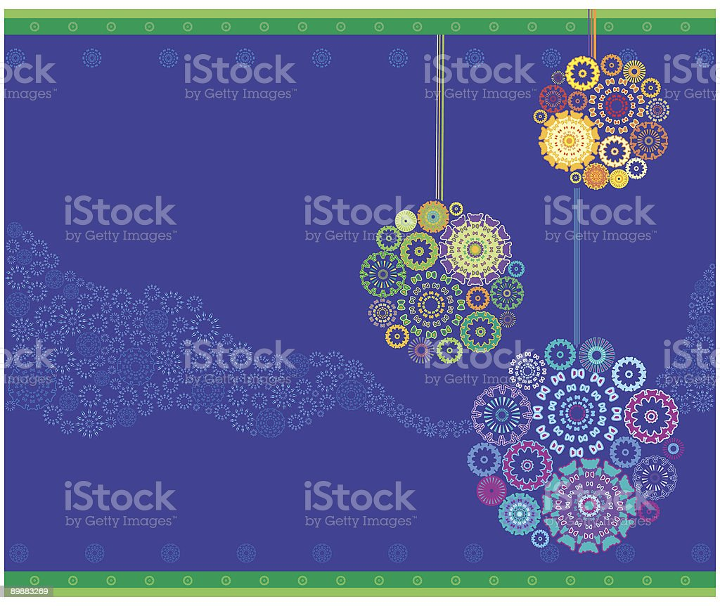 Christmas ornaments background royalty-free christmas ornaments background stock vector art & more images of art