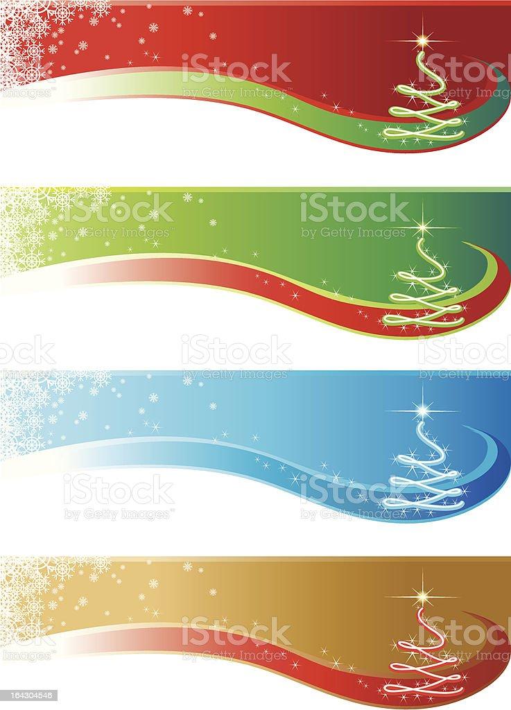 Christmas Panel royalty-free stock vector art
